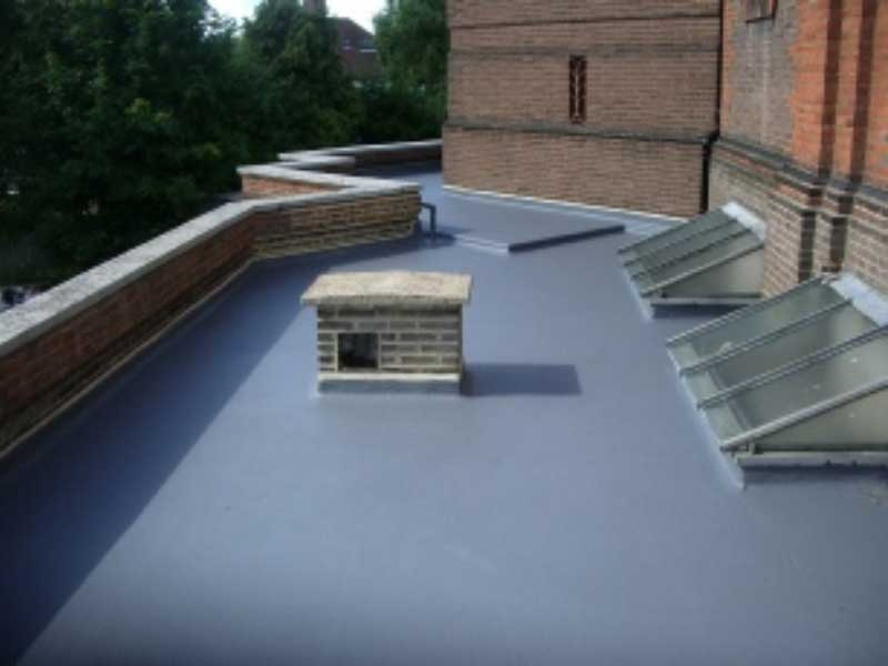 Roofing Sealant Application